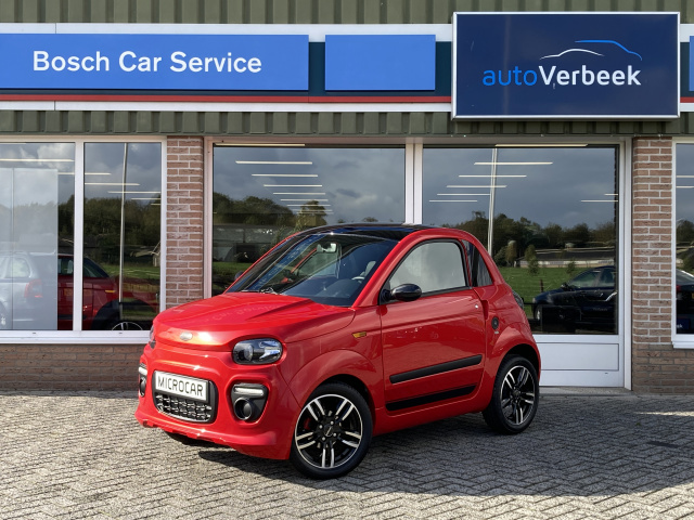 Microcar-Dué 6 Plus Design Pack DCi - Nieuw!